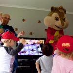 Alvin gets the kids dancing