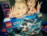 LEGO City Heavy-Duty Rescue Helicopter unboxed