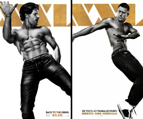 "Magic Mike XXL Reviewed by Miranda BoyerOkay let me start by saying that Channing Tatum in a thong was just about the only thought I needed when I went to see this movie. Did I really require another reason? Well as it turns out I got a few, Juan Piedrahita, Joe Manganillo, Kevin Nash, Gabriel Iglesias, Matt Bomer, and Adam Rodriguez in thongs. There might have been a serious lack of plot and follow through on said thin plot lines but let's just be completely honest here: I wasn't watching Magic Mike XXL for the plot. I will say this about the acting (can we call it acting?) those men are incredibly strong. The shear physical power demonstrated is extremely attractive. This movie was a crowd pleaser; I would be surprised if even a single man or women in the audience was able to contain their laughter. At the end of the day Magic Mike XXL is a road-trip comedy with an extreme amount of stimulating chemistry between the characters. A little more then three years after leaving the world of male entertainment, Michael ""Magic Mike"" Lane is more then a little frustrated with his happily ever after.  Business is good but not great, his girlfriend (formally played by Cody Horn) said no to his marriage proposal and he's left wanting more. After being swindled into meeting with some of his old friends, Mike joins the group on a road trip to Myrtle Beach to perform one last exotic dance at a male entertainers convention. The impressively choreographed dance routines leave the first film in the dust. They are both creative and erotic. In my opinion Manganillo steals the show on this one. The first time was during an impromptu convenience store stop where the other guys bet him he can make the clerk smile just by dancing. He later follows that routine up with the most elaborate romance and bondage-themed performance hot enough to leave the audience on their knees begging for more. I enjoyed this film far more then I expected to. The first film had far more plot, the second had far better dancing. It isn't often when a sequel surpasses the first film but that managed to happen with Magic Mike XXL. I'm excited for the DVD release later this year."
