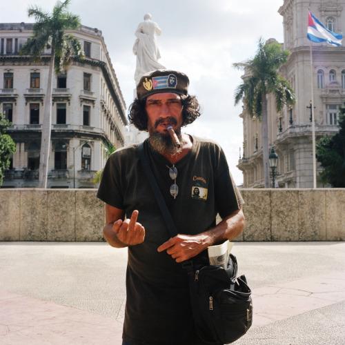 Nicolas Demeersman aka Pretty Punk (b. 1978, Seclin) - False Che, Havana, Cuba. 2010 from ongoing Fucking Tourist series 2009-2014 Photography