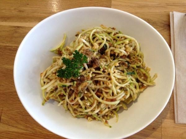 Pasta Bolognese rawlicious
