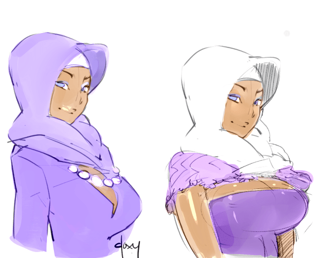 hijab comic
