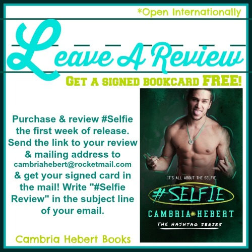 Selfie Review Incentive
