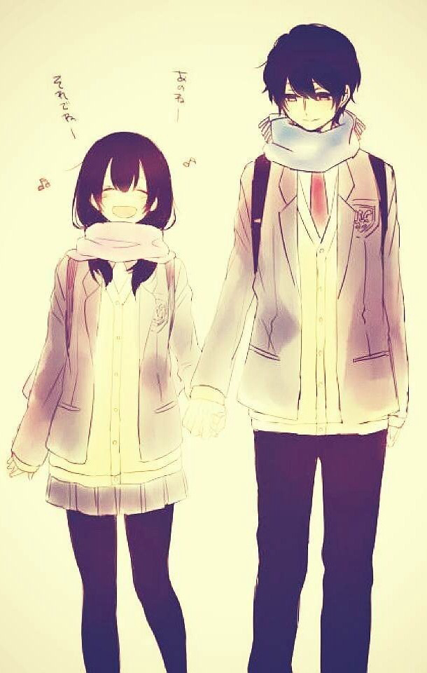 Anime Couple Holding Hands : anime, couple, holding, hands, Anime, Couple, Holding, Hands, Tumblr, Wallpaper, Gallery