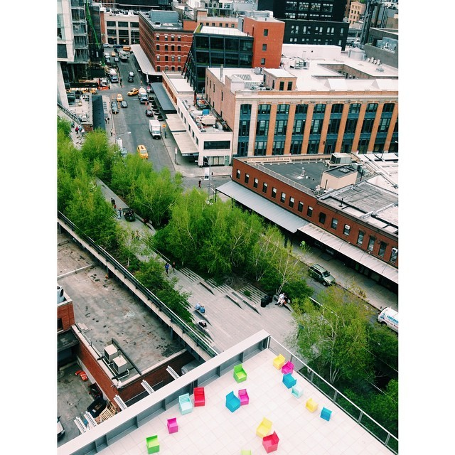 Whitney Museum view