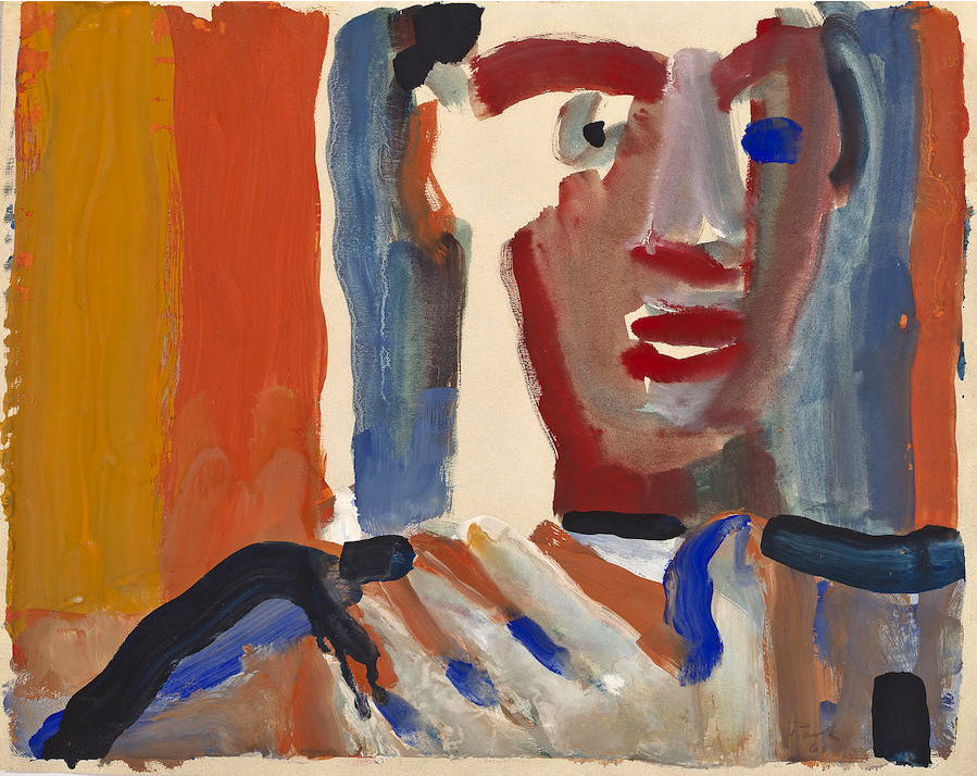 thunderstruck9: David Park (American, 1911-1960), Untitled, 1960. Gouache on paper, 11 ½ x 14 ½ in.
