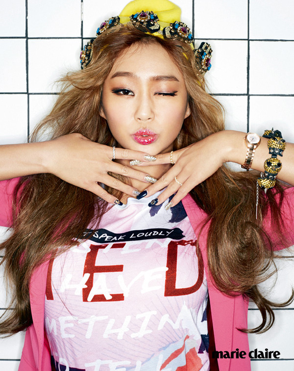 Sistar Hyo Rin - Marie Claire Magazine March Issue '15