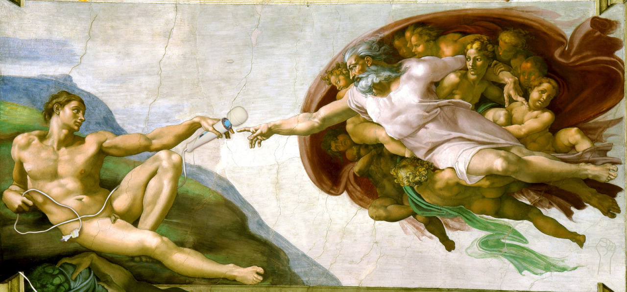 The Creation of the Magic Wand by Michelangelo.