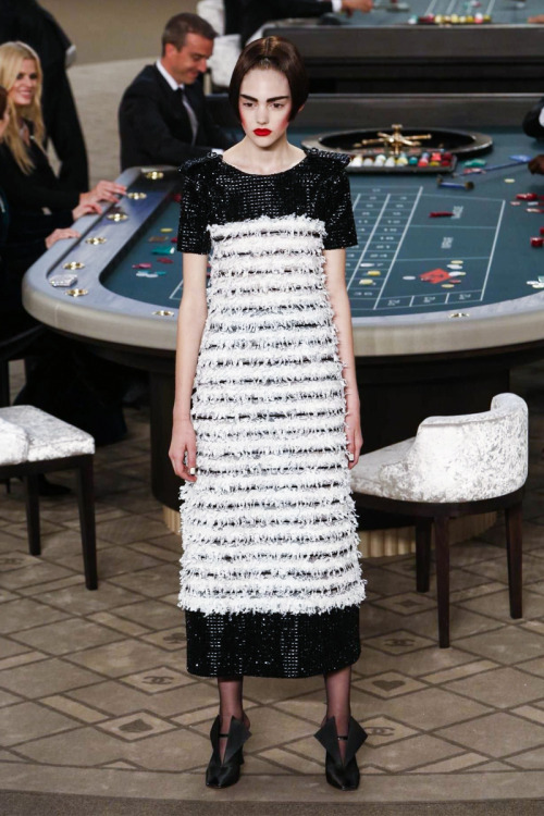 MAJOR MODEL - Madison W. desfila para Chanel Haute Couture FW15