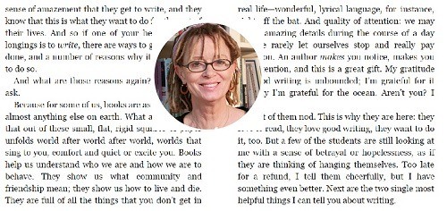 Anne  Lamott and Bird by Bird