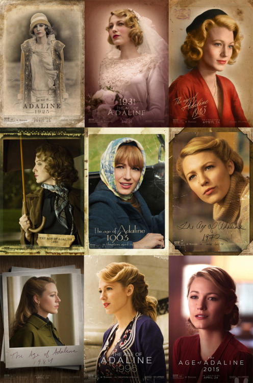The Age of Adaline Review by Miranda Boyer After a near-fatal accident in the 1930s our Heroin, Adaline<br /><br /><br /> Bowman (Blake Lively) is magically, or medically as the narrator would have us<br /><br /><br /> believe, transformed by death, snow, and a lightning storm. She will never age<br /><br /><br /> a day older then her presently twenty-nine year old self is. Fast forward 80ish<br /><br /><br /> years to the present day, Adaline works in a library and is packing to move<br /><br /><br /> again. Every ten years like clockwork for her own safety and to avoid any<br /><br /><br /> suspicion, she changes her name, job, and location. The Age Of Adaline<br /><br /><br /> is told through an almost documentary style with flashbacks and a narrator.<br /><br /><br /> Adaline long ago gave up on love and the idea of growing old with someone. She<br /><br /><br /> doesn't have the ability to trust her truth with anyone outside of her<br /><br /><br /> daughter, who looks more like a grandmother. All that changes on New Year's Eve 2014 when She meets Ellis<br /><br /><br /> (Charlie Huisman) leaving a party in an elevator. The chemistry between these<br /><br /><br /> two is undeniable. Near the second half of the film, there is a small but<br /><br /><br /> emotionally powerful performance by Harrison Ford. Although I've heard otherwise, I believe that Lively did a<br /><br /><br /> beautiful job portraying a women with over a hundred years. She's a little<br /><br /><br /> aristocratic and some of her references to younger years imply this truth. This<br /><br /><br /> film was free of violence, death, and graphic sex making this romantic fantasy<br /><br /><br /> a beautiful refreshing win.