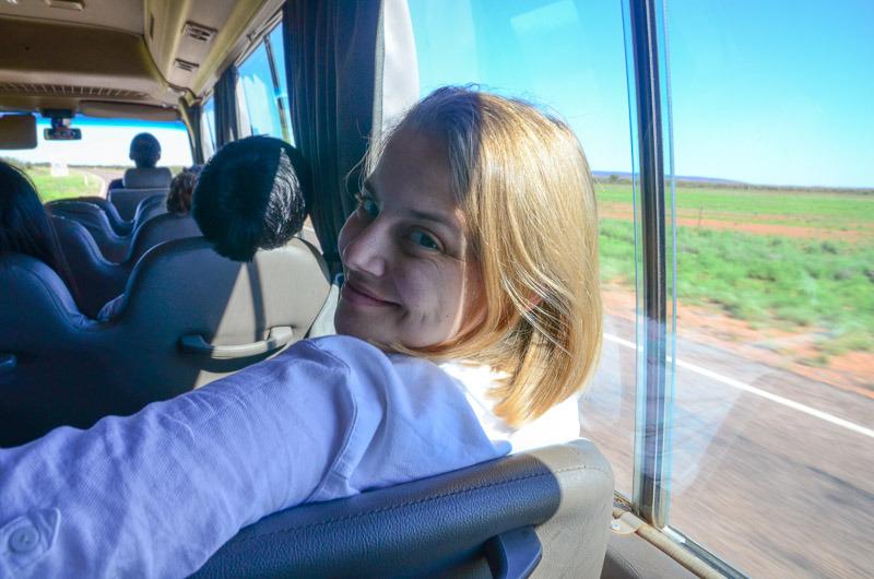 En route to Uluru