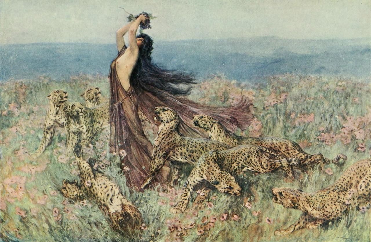 A Bacchante, Arthur Wardle (1860-1949)