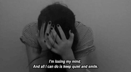 Depressed And Boy Black White