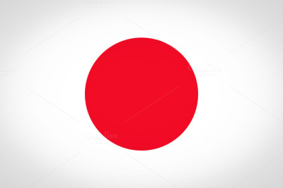 The Japanese flag, referred to as Hinomaru (circle of the sun) in japanese, and The Rising Sun flag in english.The meaning of the colours: White: honesty and purityThe Red Circle: represents the sun; meaning brightness, sincerity and warmth.