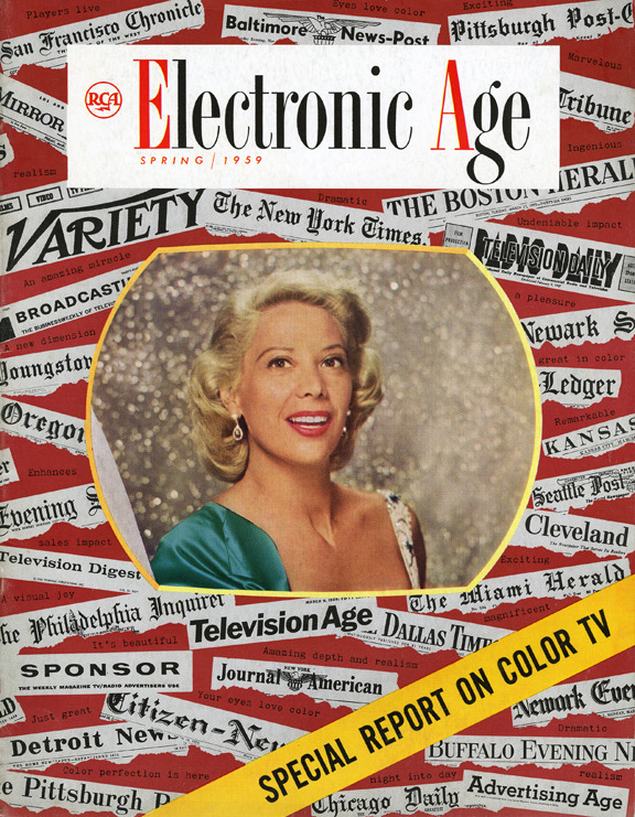 Electronic Age featuring Dinah Shore - Spring 1959