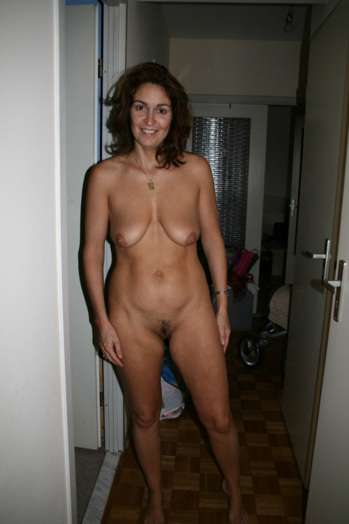 Nude wife is happy to see you.