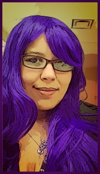purple hair rocks!