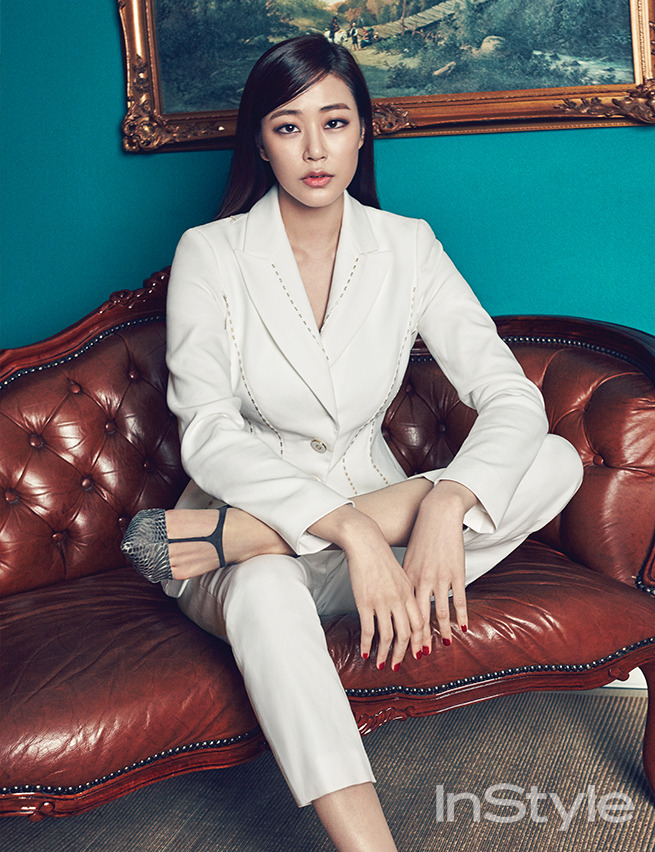 Kim Hyo Jin - InStyle Magazine March Issue '15