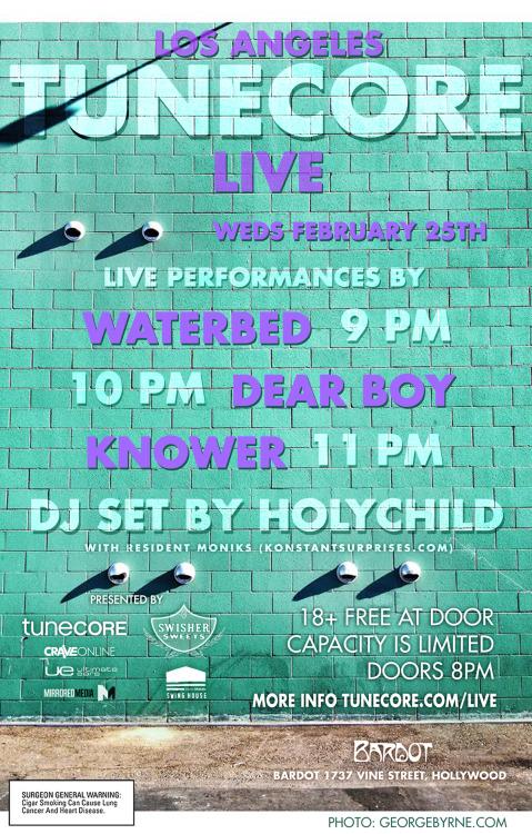 tunecore live 2/25