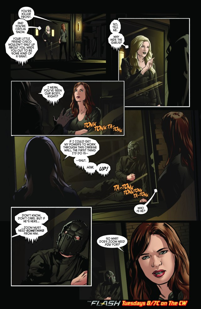 Caitlin meets Killer Frost in a preview comic for The Flash episode 2x19,