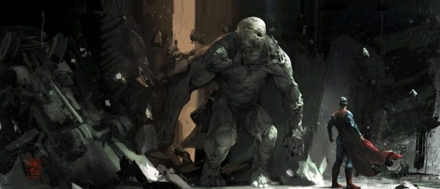 Batman v Superman Doomsday concept art