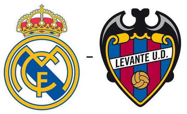 Real Madrid vs Levante | Jornada 8 | Liga BBVA 2015 2016FECHA:Sábado, 17/10/2015 16:00hARBITRO:Sánchez Martínez (España)ESTADIO:Santiago Bernabéu - MadridTV: C+ LIGAReal Madrid:4-2-3-1Levante:5-3-2El Santiago Bernabéu es el único estadio que se mantiene imbatido en lo que va de Liga. Tras siete jornadas, los blancos han disputado tres encuentros en casa, dejando su portería a cero en todos ellos. Betis (5-0), Granada (1-0) y Málaga (0-0) han sido los rivales. El próximo será el Levante (sábado, 17 de octubre, 16:00 h, C+ Liga).Real Madrid vs Levante | Jornada 8 | Liga BBVA 2015 2016: resultado final (3-0)El Real Madrid quiere convertirse hoy en líder de la Liga BBVA y para ello, además de esperar el pinchazo del Villarreal (que se enfrenta al Celta en un más que interesante partido), deberá conseguir los próximos tres puntos que se disputará frente al Levante en el Bernabéu en la jornada 8 del campeonato nacional.Importante hacer memoria y destacar también que tras los parones por los compromisos internacionales los blancos no acusaron en absoluto estas citas. Es más, suman 4 victorias holgadas frente a, precisamente el Levante (0-5), Éibar (0-4), Granada (9-1) y Español (0-6). En total 24 goles a favor y solo uno en contra.El brasileño Marcelo marcó en el 27' y Cristiano Ronaldo en el 30'. En el 81' Jesé cerró el marcador.Marcelo 27 / Cristiano Ronaldo 30 / Jesé 81El equipo de Alcaraz tuvo ocasiones de marcar, pero Keylor Navas, inmenso una vez más, detuvo todos los disparos de los visitantes. Convocatoria del Real Madrid Vs LevantePorteros: Keylor Navas, Kiko Casilla y Rubén Yáñez.Defensas: Varane, Nacho, Marcelo, Danilo y Lienhart.Centrocampistas: Kroos, Bale, Casemiro, Kovacic, Cheryshev, Isco y Llorente.Delanteros: Cristiano Ronaldo, Lucas Vázquez, Jesé y Mayoral.A cuatro días de visitar al París Saint-Germain en Champions League, el Real Madrid resolvió con autoridad un duelo en el que no pudo contar con varios hombres importantes; el capitán Sergio Ramos, el 