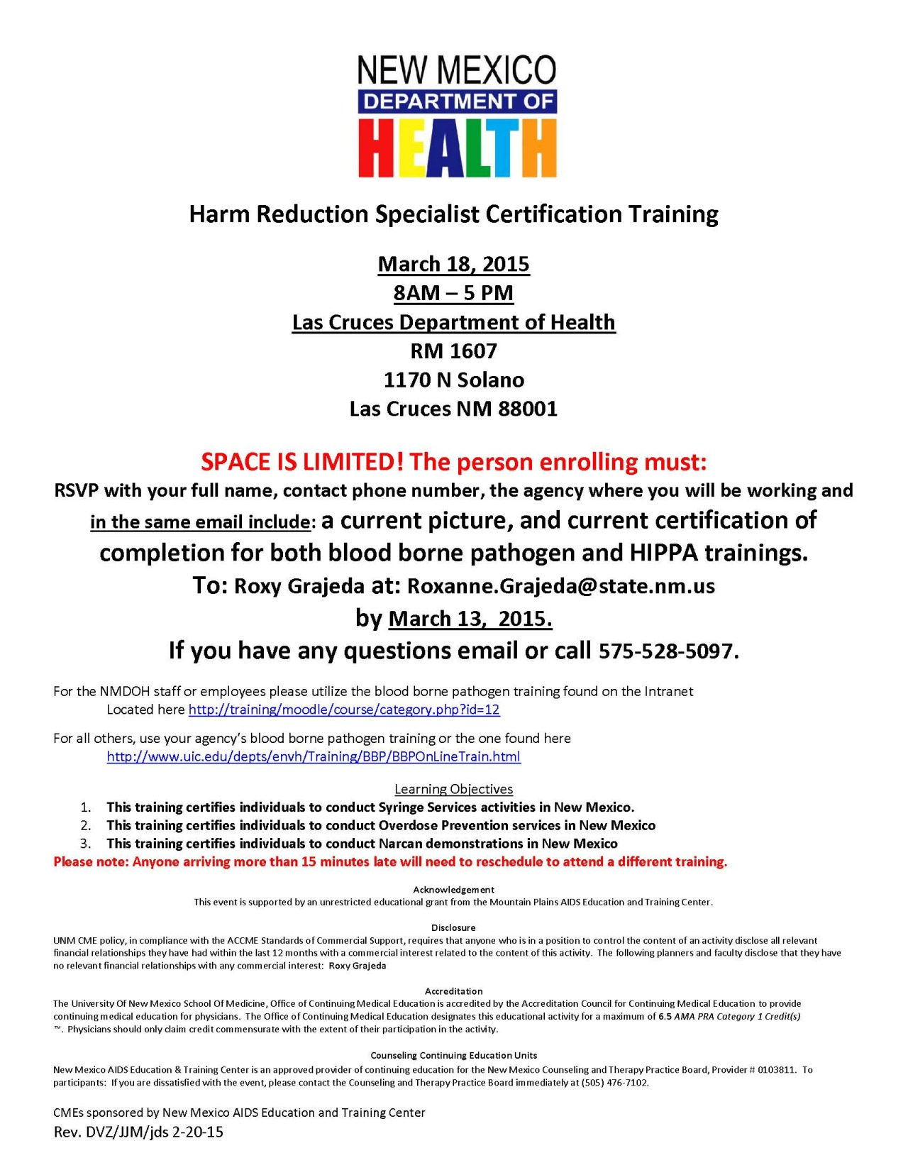 New Mexico Community And Action Group