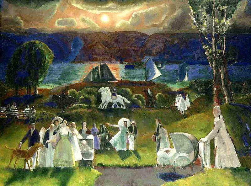 lilacsinthedooryard: George Bellows Summer Fantasy, 1924