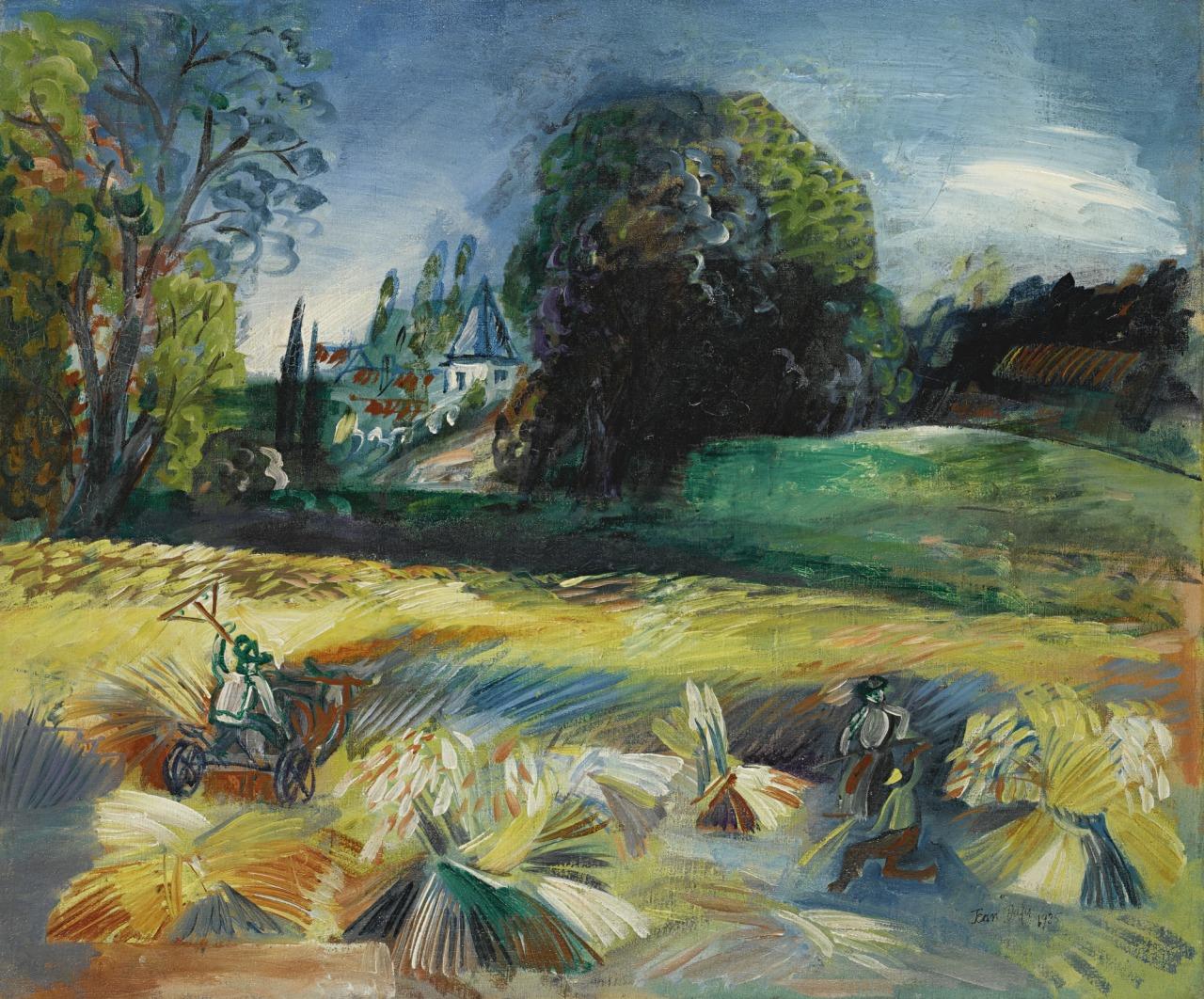 thunderstruck9:  Jean Dufy (French, 1888-1964), La Moisson [The Harvest], 1925. Oil on canvas, 54.5 x 65.5 cm.