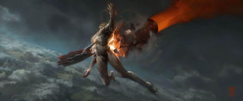 Batman v Superman Doomsday concept art