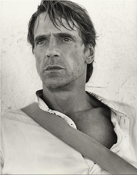 gladtoknowcha: Jeremy Irons By Andre Rau