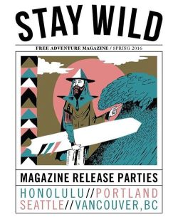 Hold the phone, I'm on the cover of the next @staywildmagazine toot toot. #steviegee #staywild #slaymild