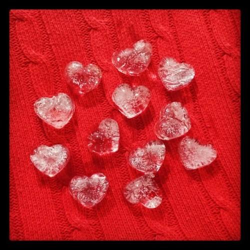 Los corazones de hielo son fáciles de derretir…