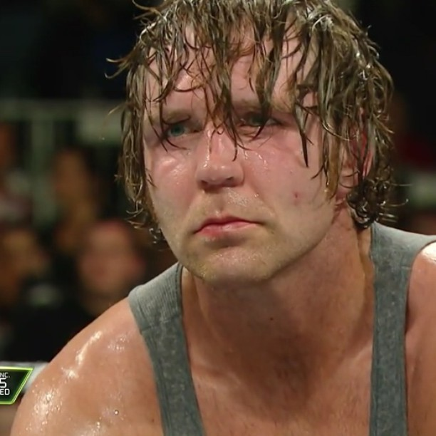 Image result for dean ambrose sad