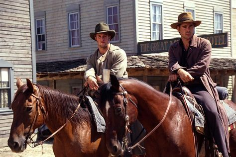 Meet the Cast of Vengeance Road  { 2 of 5 }Introducing Jesse and Will ColtonAlways looking to earn an extra dollar, these cowboys work odd jobs across the Territory. Cheerful and good-humored, Will is the perfect contrast to his older brother's stern demeanor. But with their savings dwindling and loved ones to take care of, Jesse has reason to run a tight ship. Once the boys cross paths with Kate and learn that her destination may yield gold, they become–much to Kate's displeasure–her permanent shadow. Fun Fact: Before drafting Vengeance Road, I read an entire book dedicated to cowboy culture. Even though the Coltons do little wrangling and roping on the actual page, this research allowed me to better understand their typical day-to-day life and weave subtle details into Kate's story. Photo credits from left to right, top to bottom: still from Love's Enduring Promise (2004) / still from Lonesome Dove (1989) / still from American Outlaws (2001) / Howard Folsom / AZ Chaps / Porsteinn Ingibergsson / Richard Prince / still from The Quick and the Dead (1995)You can also check out my pinterest board for more of my visual inspiration -»