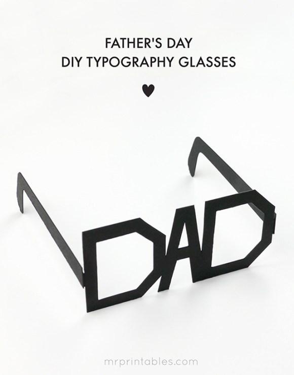 DIY DADメガネ