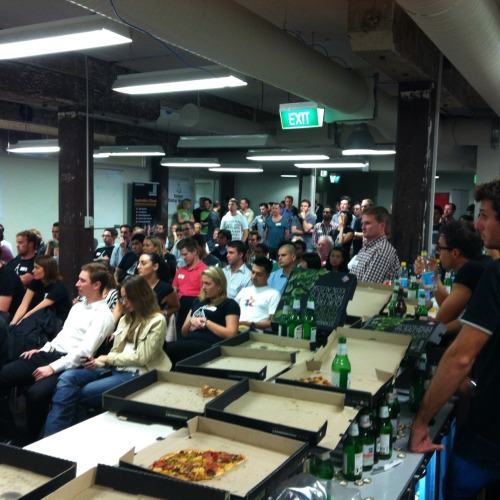 Pitchfest at Sydney Startup Weekend