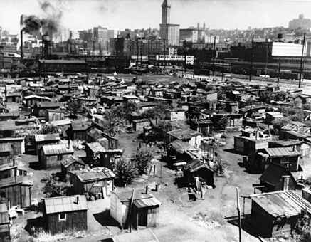 Image result for shanty towns great depression