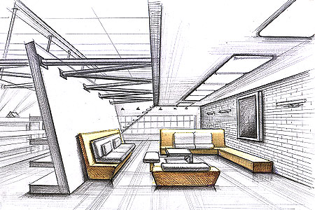Your Daily Inspiration Interior Design Drawing Technique The Design 411