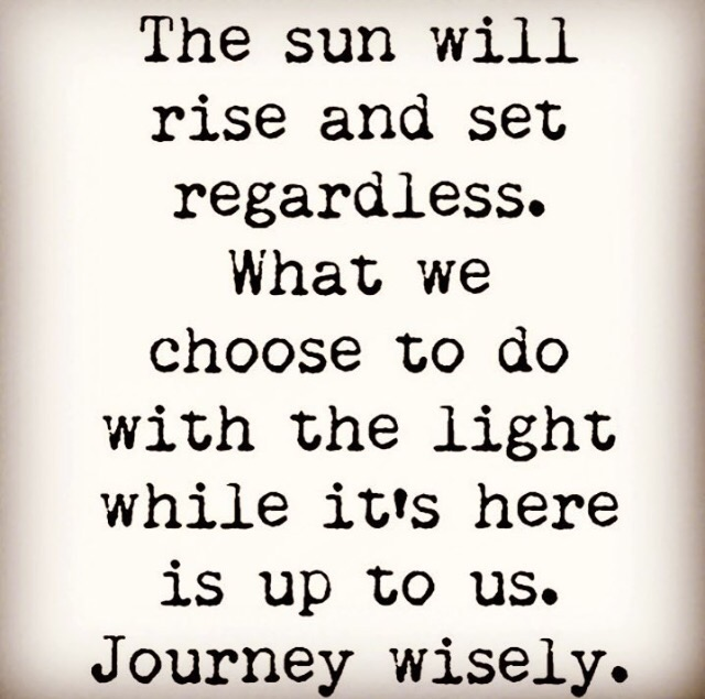 Wise Words Journey Wisely 411 Junkie
