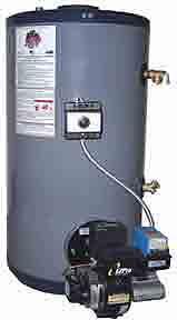 Bock SpaceSavr 20E Oil Fired Water Heater