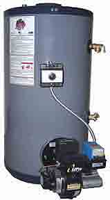 Bock SpaceSavr 20E Oil Fired Water Heater