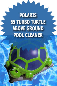 polaris 65 turbo turtle above ground pool cleaner