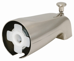 How To Repair A Leaking Tub Diverter Spout