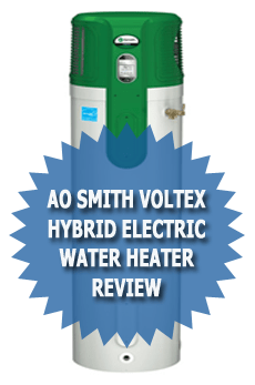 AO Smith Voltex Hybrid Electric Water Heater model PHPT-80