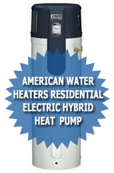American Water Heaters Residential Hybrid Electric Heat