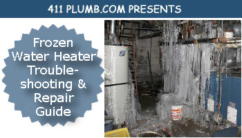 Frozen Water Heater Troubleshooting And Repair Guide