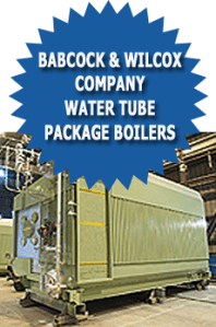 Babcock And Wilcox Company Water Tube Package Industrial Boilers