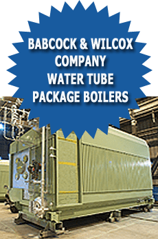 Babcock and wilcox company water tube package boilers